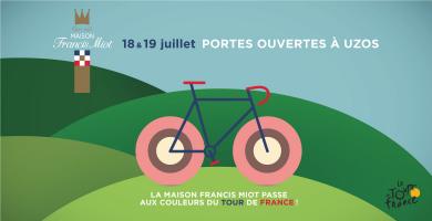 La Maison Francis Miot passe aux couleurs du Tour de France