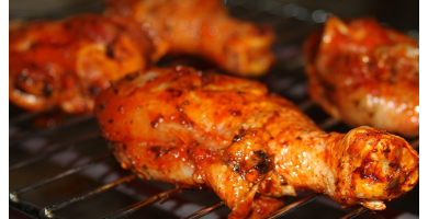 Recette poulet rôti doré au miel
